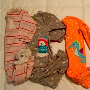 Bundle of 6 Month Girls Sleep & Play